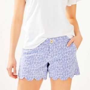 Lilly Pulitzer buttercup shorts. Size 4. NWT